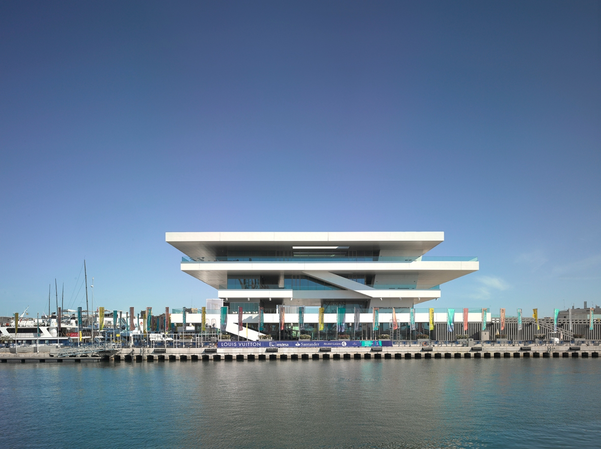 4- Valencia-America's Cup Building -photo Christian Richters