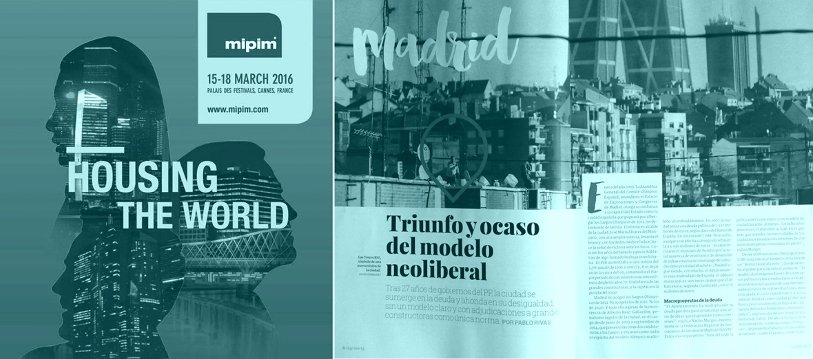 06_Charter for the Great Number_MIPIM-2016 poster_and Publication on the City_Madrid 2015