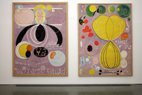 Hilma af Klint Painting the Unseen; Installation view Serpentine Gallery, London (3 March 15 May 2016) Image © Jerry Hardman Jones