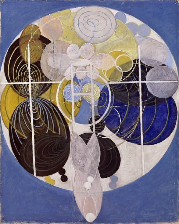 klint - The Large Figure Paintings, No. 5 Group III,The Key to All Works to Date - The WU Rose Series