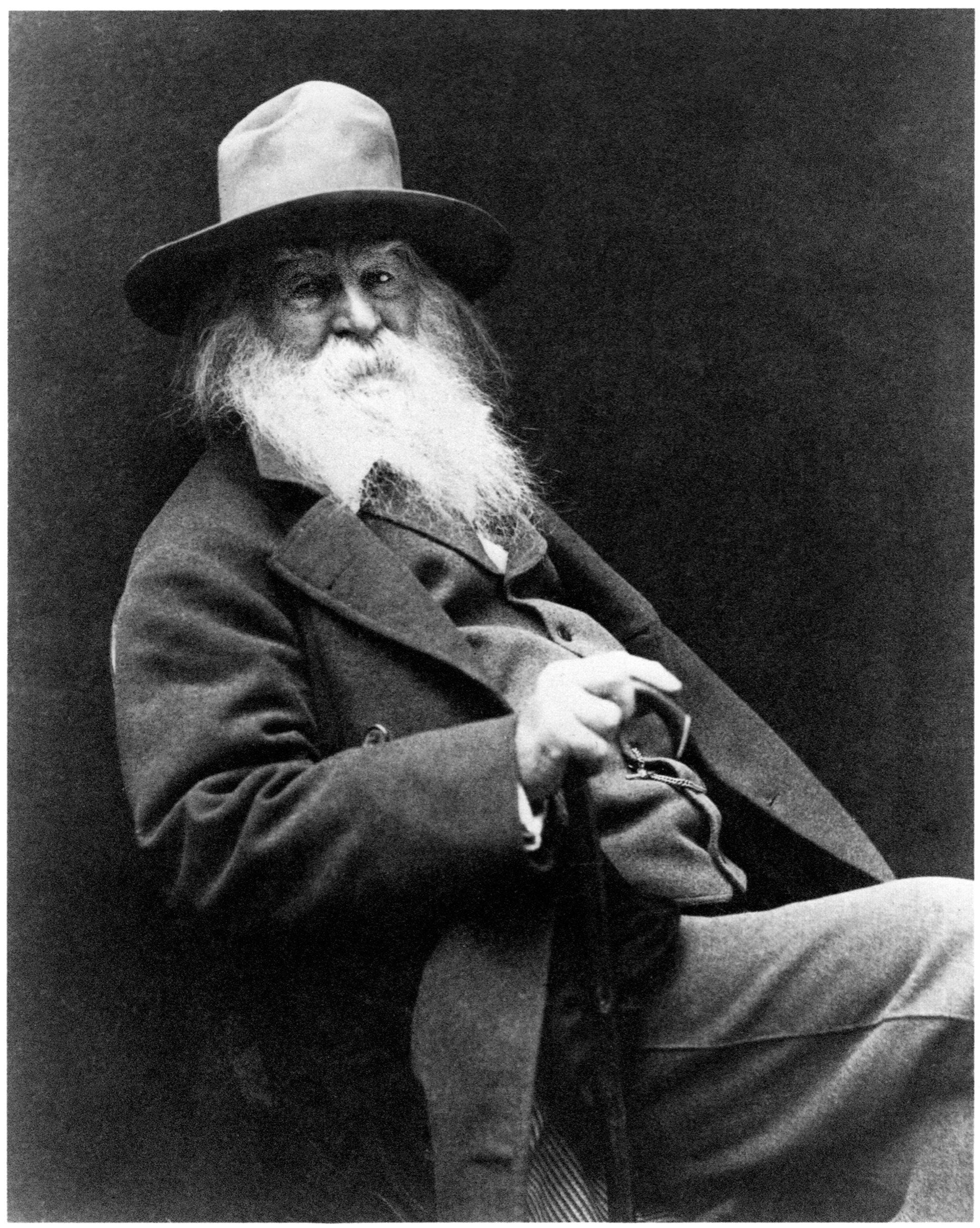 Walt Whitman Poet Literature